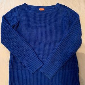Sweaters - Joe Fresh Cobalt Sweater
